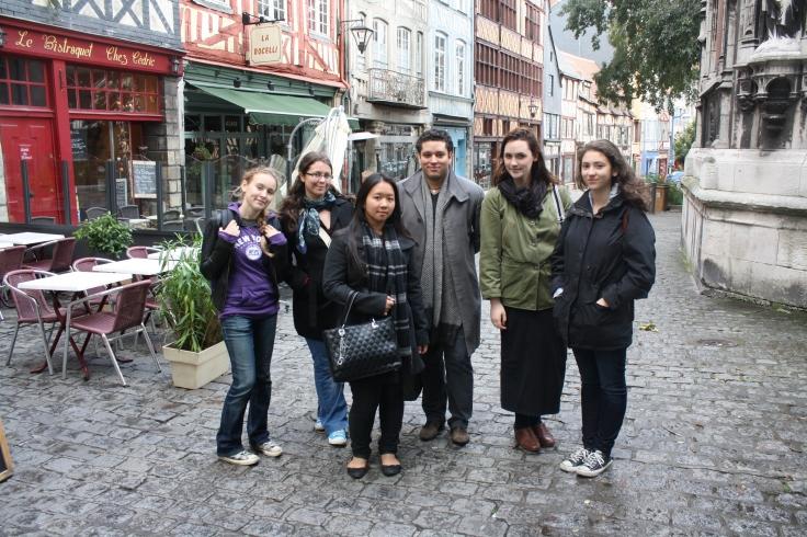 AUP study trip to Rouen