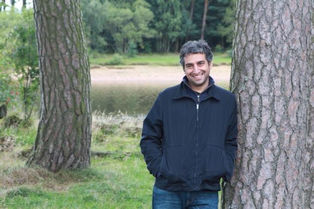 Dan Medin and Tree in Edinburgh