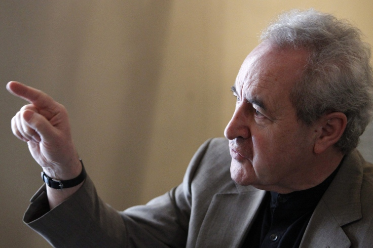 John Banville Presents His New Novel in Madrid