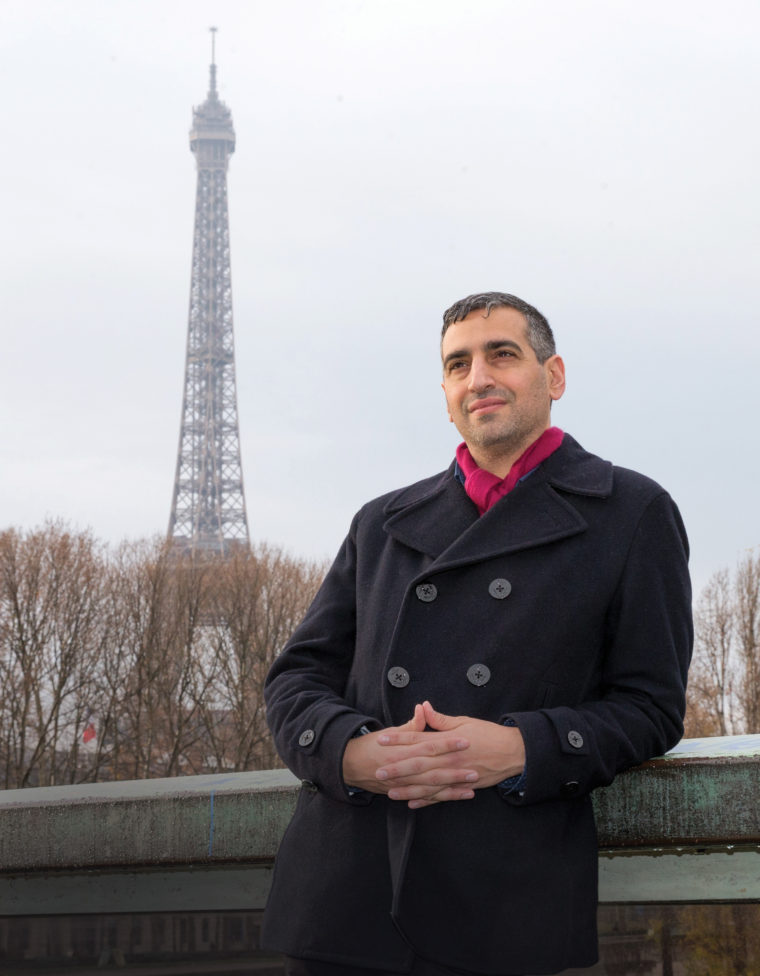 Portrait of Daniel Medin in Paris, France on December 15, 2015.